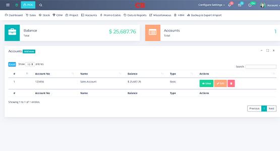 website design & development Accounts