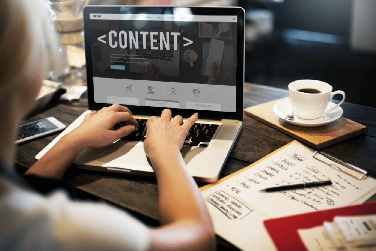 Website design & development Article of content-writing-service