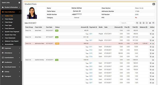 website design & development fees collection